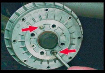 Откручиваем шпильки тормозного барабана на ВАЗ 2108, 2109, 21099