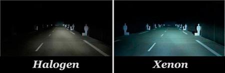 Различие между ксеноновым светом и светом от галогенной лампы