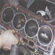 Снятие головки блока цилиндров и замена прокладки ГБЦ на ВАЗ 2108, 2109, 21099