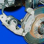 Снятие и замена передних тормозных колодок на ВАЗ 2108, 2109, 21099