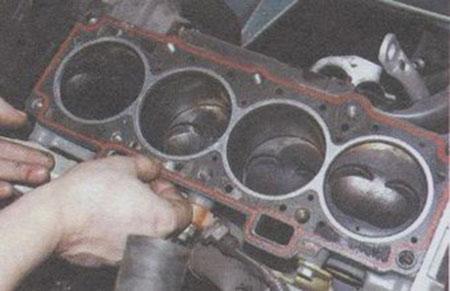 Замена прокладки гбц ваз 2112 16 клапанов своими руками