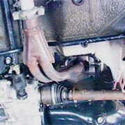 Снятие и замена приемной трубы глушителя на ВАЗ 2108, 2109, 21099