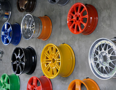 Покраска литых дисков