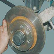 Снятие и замена тормозных дисков на ВАЗ 2108, 2109, 21099