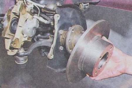 Снимаем тормозной диск на ВАЗ 2101, 2102, 2103, 2104, 2105, 2106, 2107
