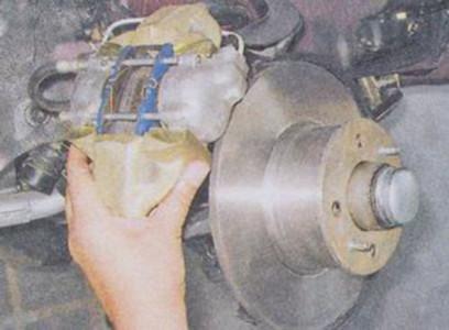 Снимаем тормозной суппорт на ВАЗ 2101, 2102, 2103, 2104, 2105, 2106, 2107