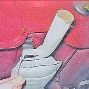 Снятие и замена глушителя на ВАЗ 2101, 2102, 2103, 2104, 2105, 2106, 2107 (видео)