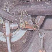 Снятие и замена задних амортизаторов на ВАЗ 2101, 2102, 2103, 2104, 2105, 2106, 2107