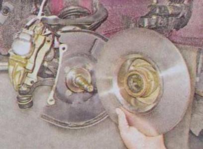 Снимаем тормозной диск со ступицей на ВАЗ 2101, 2102, 2103, 2104, 2105, 2106, 2107