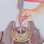 Снятие и замена переднего ступичного подшипника на ВАЗ 2101, 2102, 2103, 2104, 2105, 2106, 2107