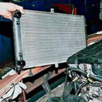 Снятие и замена радиатора охлаждения на ВАЗ 2108, 2109, 21099