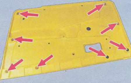Пистоны крепления обшивки двери на ВАЗ 2108, 2109, 21099