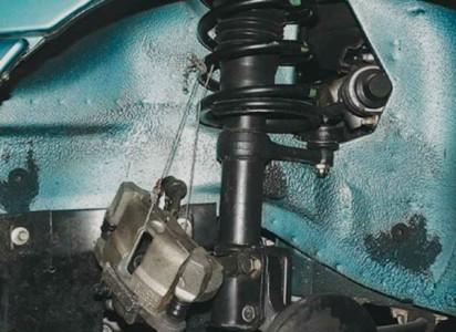 Подвешиваем тормозной суппорт на ВАЗ 2110, 2111, 2112