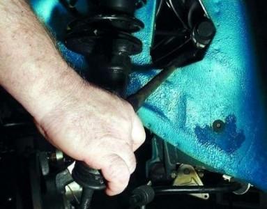 Снимаем рулевую тягу на ВАЗ 2110, 2111, 2112