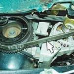 Снятие и замена ремня генератора на ВАЗ 2110, 2111, 2112